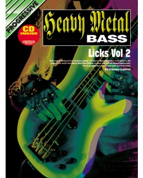 Progressive Metal Bass Licks - Volume 2 - Teach Yourself How to Play Bass Guitar