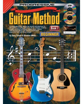 Progressive Guitar Method - Book 1 - Teach Yourself How to Play Guitar