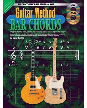 Progressive Guitar Method - Bar Chords - Teach Yourself How to Play Guitar Chords
