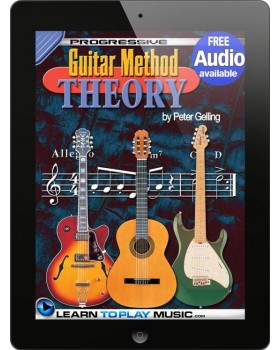 Progressive Guitar Method - Theory - Teach Yourself How to Play Guitar (Free Audio Available)