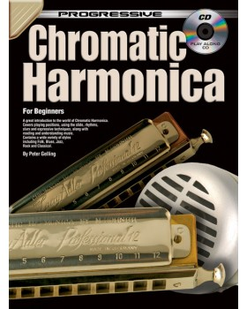 Progressive Chromatic Harmonica - Teach Yourself How to Play Harmonica