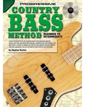 Progressive Country Bass Method - Teach Yourself How to Play Bass Guitar