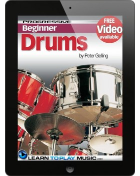 Drum Lessons for Beginners - Teach Yourself How to Play Drums (Free Video Available)