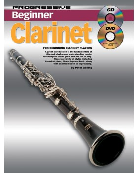 Progressive Beginner Clarinet - Teach Yourself How to Play Clarinet