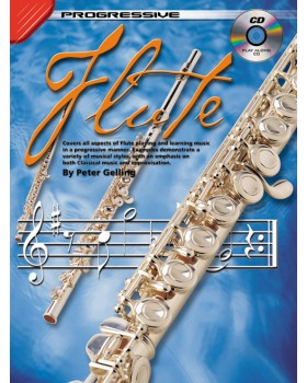 Progressive Flute - Teach Yourself How to Play Flute