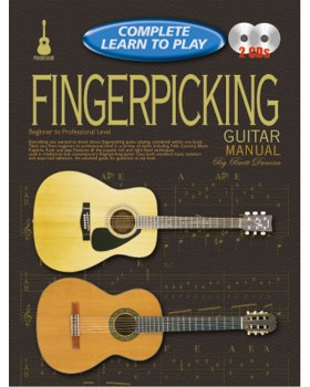 Progressive Complete Learn To Play Fingerpicking Guitar Manual - Teach Yourself How to Play Guitar