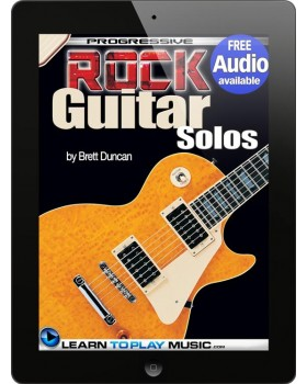 Rock Guitar Lessons - Licks and Solos - Teach Yourself How to Play Guitar (Free Audio Available)