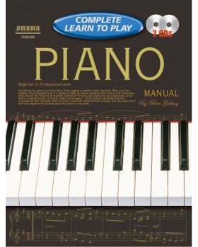 Progressive Complete Learn To Play Piano Manual - Teach Yourself How to Play Piano