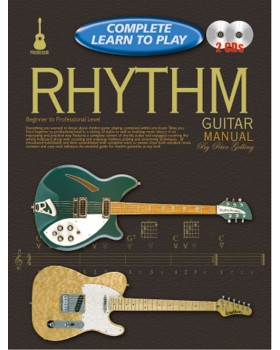 Progressive Complete Learn To Play Rhythm Guitar Manual - Teach Yourself How to Play Guitar