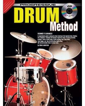 Progressive Drum Method - Teach Yourself How to Play Drums
