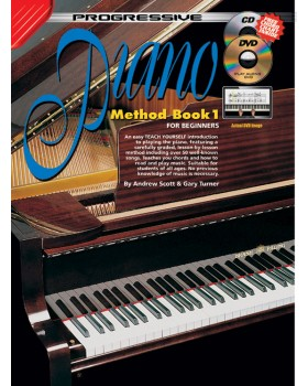 Progressive Piano Method - Book 1 - Teach Yourself How to Play Piano