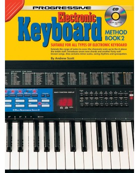 Progressive Keyboard Method - Book 2 - Teach Yourself How to Play Keyboard