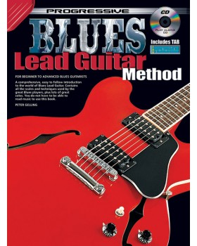 Progressive Blues Lead Guitar Method - Teach Yourself How to Play Guitar
