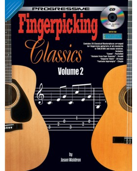 Progressive Fingerpicking Classics - Volume 2 - Teach Yourself Classical Guitar Sheet Music