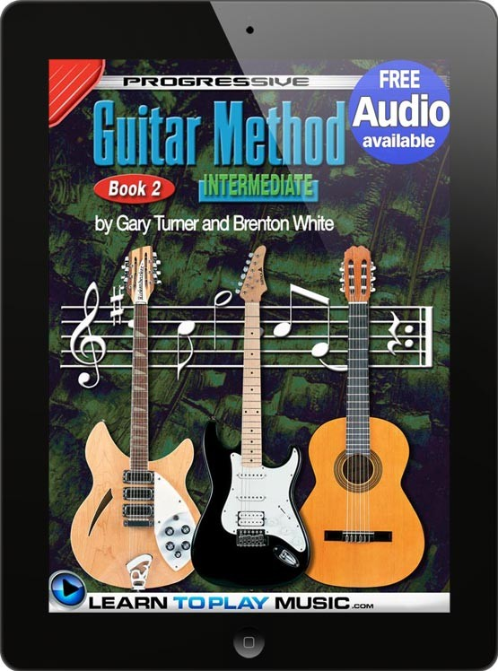 how to play guitar guitar lessons for beginners book 2. Black Bedroom Furniture Sets. Home Design Ideas