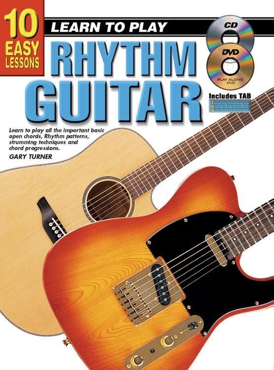 10 Easy Lessons Learn To Play Rhythm Guitar