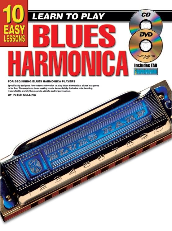 10 Easy Lessons - Learn To Play Blues Harmonica