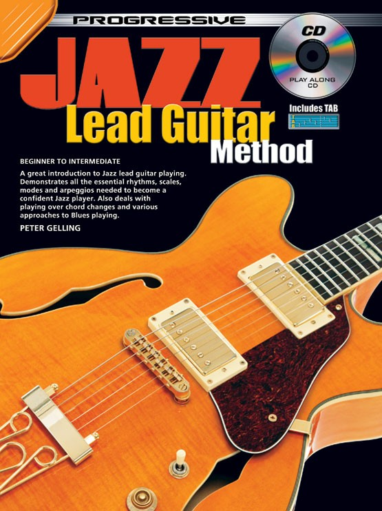 How to play guitar jazz lead guitar lessons for beginners progressive jazz lead guitar method teach yourself how to play guitar ccuart Choice Image