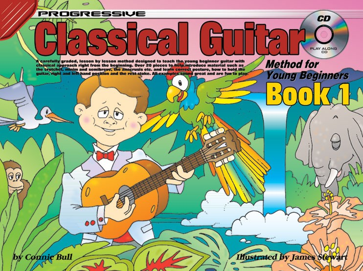 Progressive Classical Guitar Method For Young Beginners