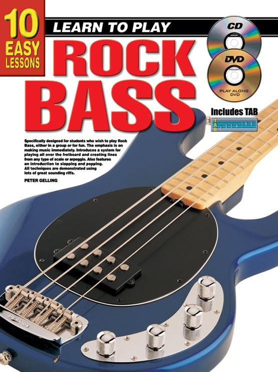 10 easy lessons learn to play rock bass. Black Bedroom Furniture Sets. Home Design Ideas
