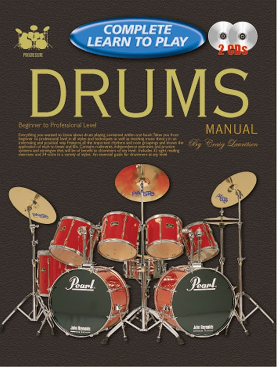 Complete Learn to Play Drums Manual (Drums and... by ...