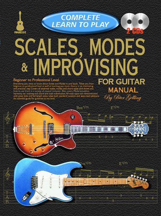 Progressive Complete Learn To Play Scales, Modes & Improvising for ...