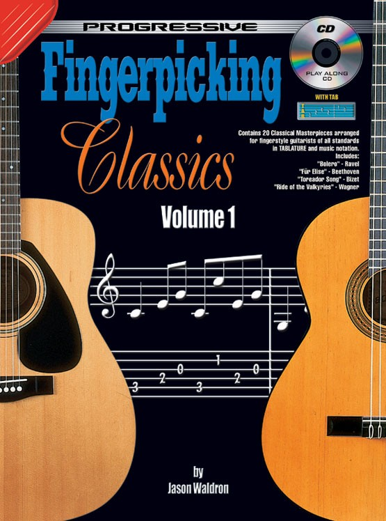classical guitar sheet music fingerstyle guitar classics volume 1. Black Bedroom Furniture Sets. Home Design Ideas