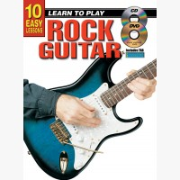 10 Easy Lessons - Learn To Play Rock Guitar
