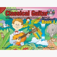 Progressive Classical Guitar Method for Young Beginners - Book 1