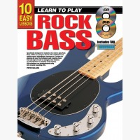 10 Easy Lessons - Learn To Play Rock Bass