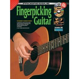 Cd Excellent Quality Progressive Beginner Fingerpicking Guitar Sheet Music & Song Books