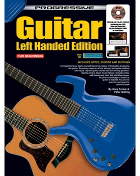 Progressive Guitar - Left Handed Edition - Teach Yourself How to Play Guitar