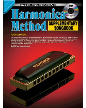 Progressive Harmonica Method - Supplementary Songbook - Teach Yourself How to Play Harmonica