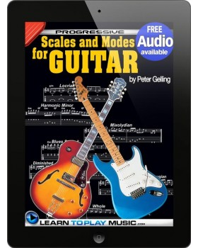 Lead Guitar Lessons - Guitar Scales and Modes - Teach Yourself How to Play Guitar (Free Audio Available)