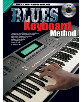 Progressive Blues Keyboard Method - Teach Yourself How to Play Keyboard
