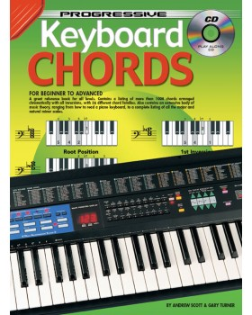 Progressive Keyboard Chords - Teach Yourself How to Play Keyboard
