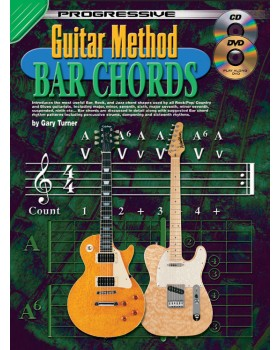 Progressive Guitar Method - Bar Chords - Teach Yourself How to Play Guitar Chords