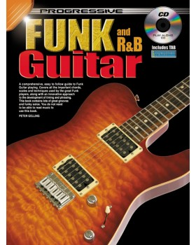 Progressive Funk and R&B Guitar Method - Teach Yourself How to Play Guitar
