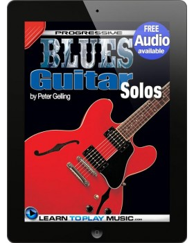 Blues Guitar Lessons - Solos - Teach Yourself How to Play Guitar (Free Audio Available)