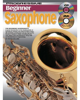 Progressive Beginner Saxophone - Teach Yourself How to Play Saxophone