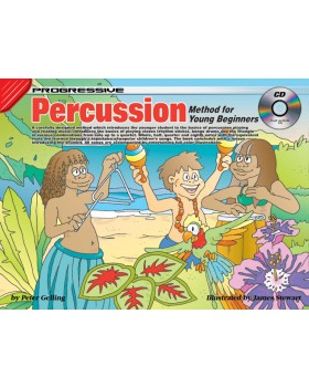Progressive Percussion Method for Young Beginners - How to Play Percussion for Kids