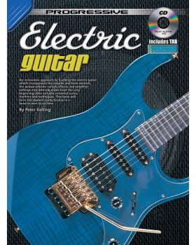 Progressive Electric Guitar - Teach Yourself How to Play Guitar