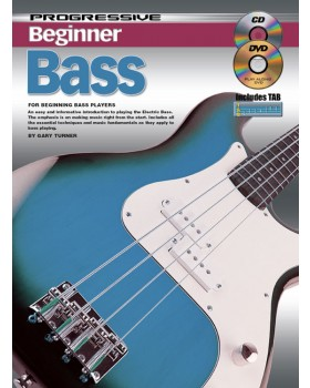 Progressive Beginner Bass - Teach Yourself How to Play Bass Guitar