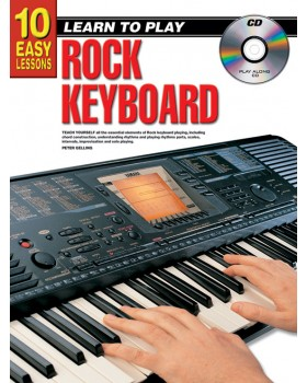 10 Easy Lessons - Learn To Play Rock Keyboard - Teach Yourself How to Play Keyboard