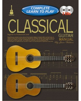 Progressive Complete Learn To Play Classical Guitar Manual - Teach Yourself How to Play Guitar
