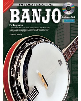 Progressive Banjo - Teach Yourself How to Play Banjo