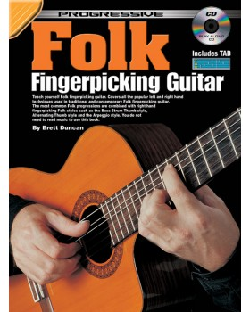 Progressive Folk Fingerpicking Guitar - Teach Yourself How to Play Guitar