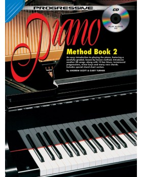 Progressive Piano Method - Book 2 - Teach Yourself How to Play Piano