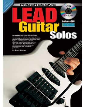 Progressive Lead Guitar Solos - Teach Yourself How to Play Guitar