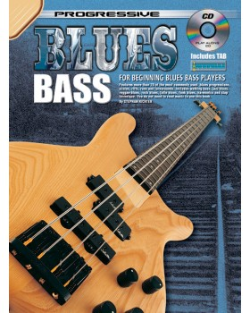 Progressive Blues Bass - Teach Yourself How to Play Bass Guitar
